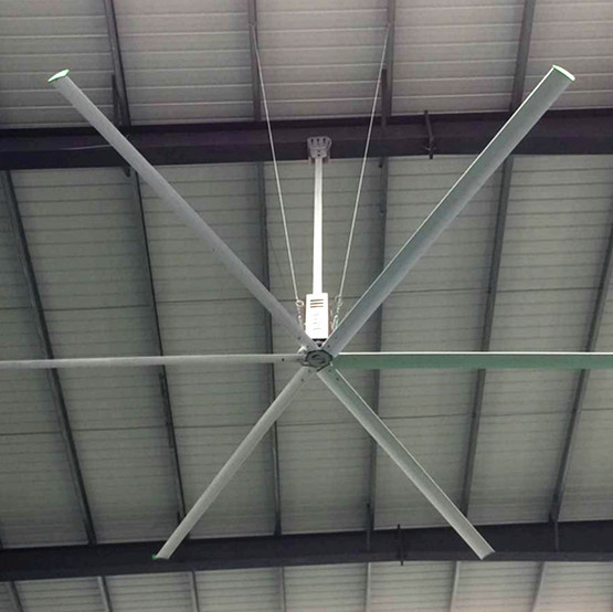 Large Residential Ceiling Fans , 20ft Large Ceiling Fans For High Ceilings